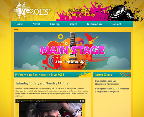 2013 Home Page