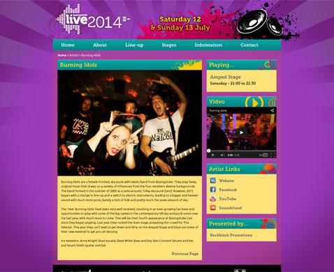 2014 Artist Page
