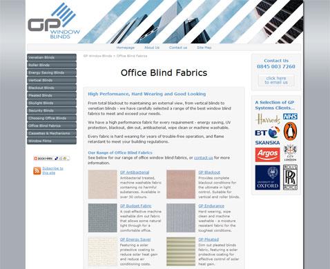 Fabrics Page